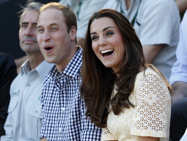 Príncipe William e Kate Middleton (Foto: Reuters)