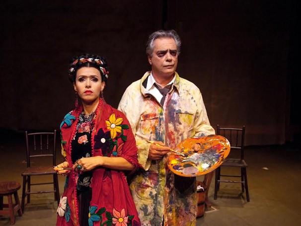 Leona Cavalli e José Rubens Chachá em cena (Foto: Divulgação)