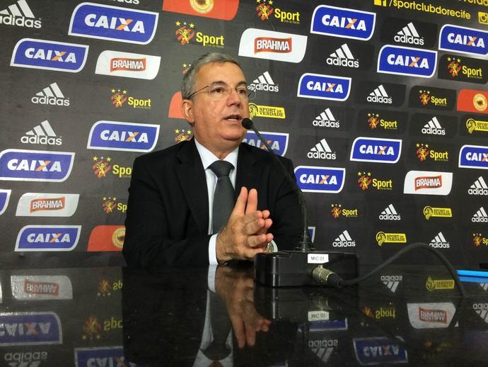 Arnaldo Barros Sport (Foto: Lucas Liausu)