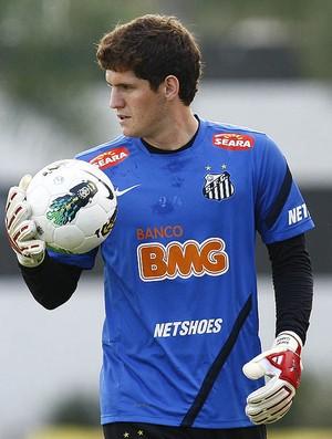 Rafael Cabral - Santos (Foto: Ricardo Saibun / Santos FC )