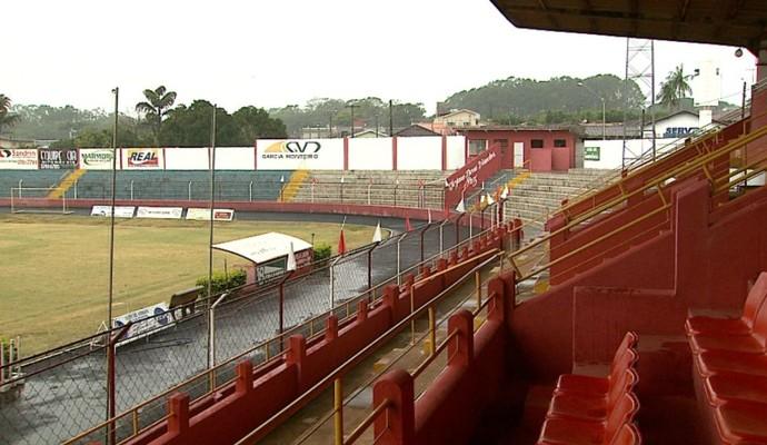 Estádio Oswaldo Scatena, Batatais (Foto: Reprodução EPTV)