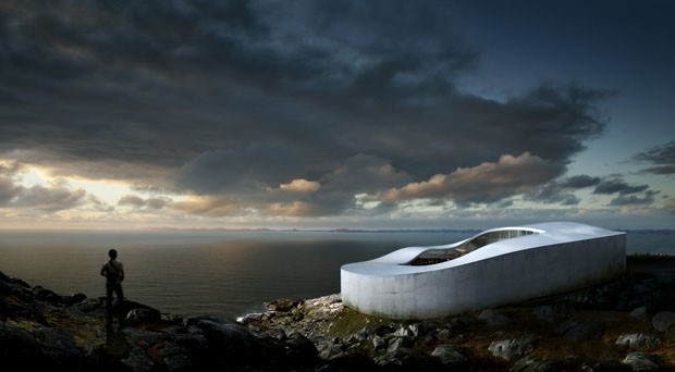 Projeto da futura Galeria Nacional de Arte da Groenlândia  (Foto: Divulgação )