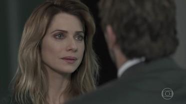 Lenita termina namoro e Felipe fica inconsolável