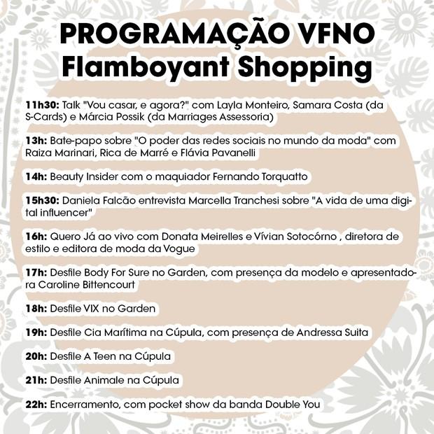 VFNO 2017 em Goiânia: programação (Foto: Divulgação)
