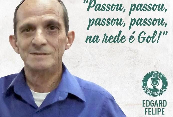 Edgard Felipe (Foto: Site oficial do Coritiba/Divulgação)