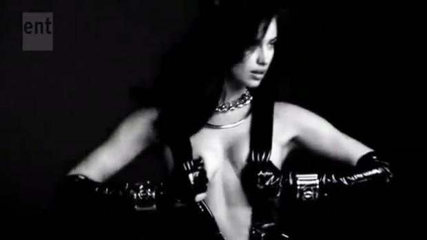 Irina Shayk (Foto: Video/Reprodução)