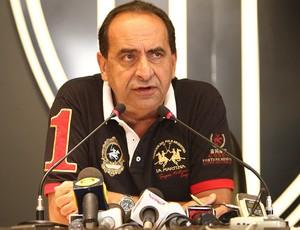 Alexandre Kalil presidente do Atlético-MG coletiva (Foto: Bruno Cantini / Site Oficial do Atlético-MG)
