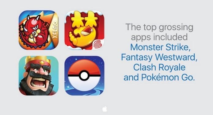 Pokémon Go foi app mais baixado na App Store em 2016 (Foto: Divulgação/Apple)