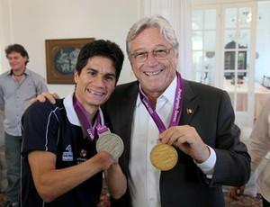 Yohansson e Governador AL (Foto: Divulgação / Gabinete Civil de AL)