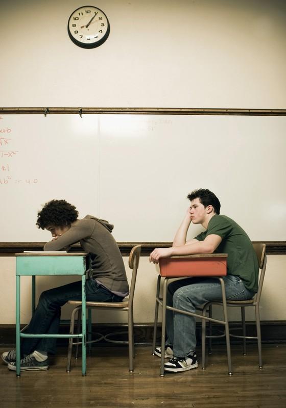 Adolescentes no Ensino Médio (Foto: Thinkstock/Getty Images)