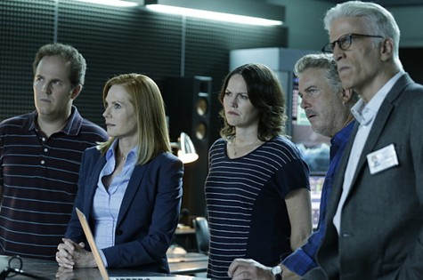 Cena de 'CSI' (Foto: Divulgação)