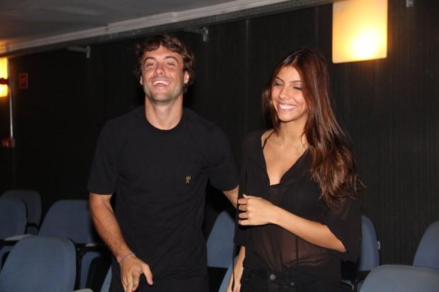 Kayky Brito e namorada (Foto: Rogerio Fidalgo/AgNews)