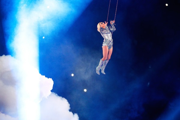 A apresentação de Lady Gaga no Superbowl (Foto: Getty Images)