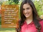 Lívian Aragão, intérprete de Marizé, revela que já sofreu bullying na escola