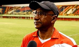 José Araújo, o Zezito, técnico do Rio Branco-AC (Foto: João Paulo Maia)