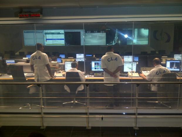 Técnicos decidem por adiar lançamento de foguete de sondagem no Centro de Lançamento de Alcântara (CLA) (Foto: Sidney Pereira/TV Mirante)