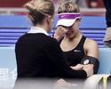 Bouchard processa entidade de tênis dos EUA por concussão em vestiário
