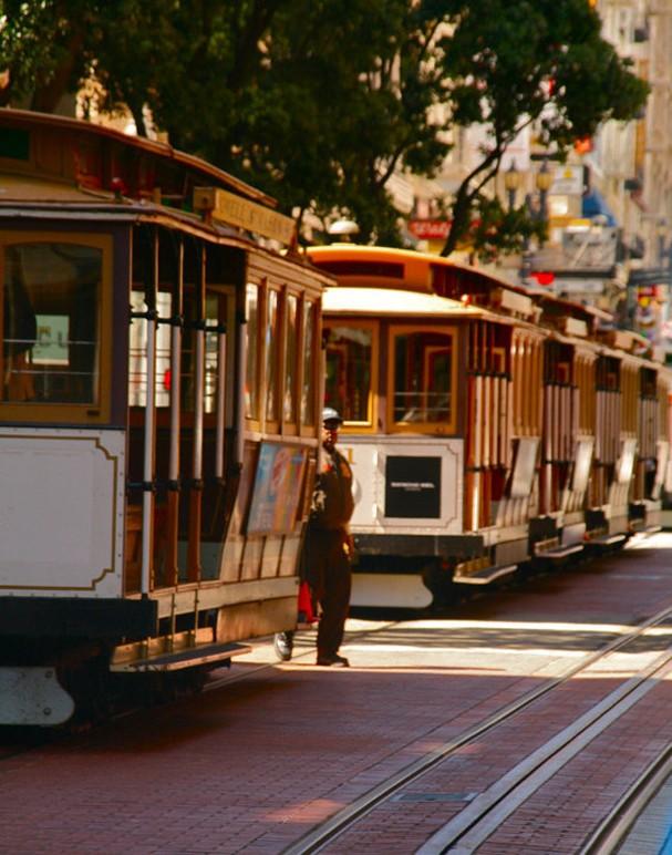 O famoso bondinho de São Francisco (Foto: Reprodução Instagram)