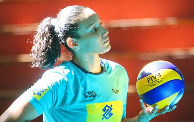 Tandara seleção brasileira (Foto: Alexandre Arruda / CBV)