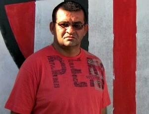 Dedé Napoleão, gerente de futebol do Serra (Foto: Eduardo Dias/Globoesporte.com)