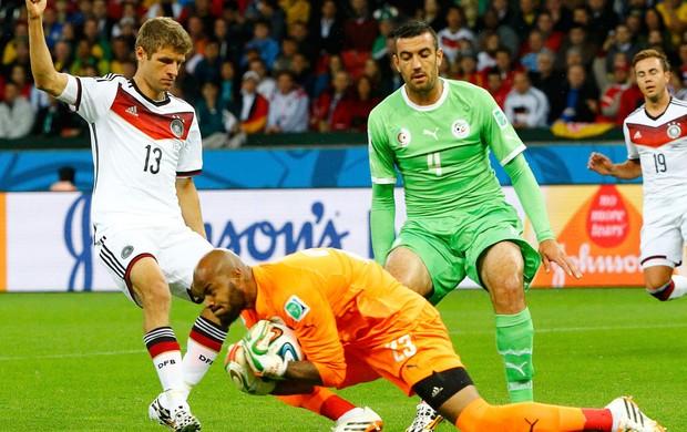 Lédio vê Alemanha tensa e elogia goleiro da Argélia