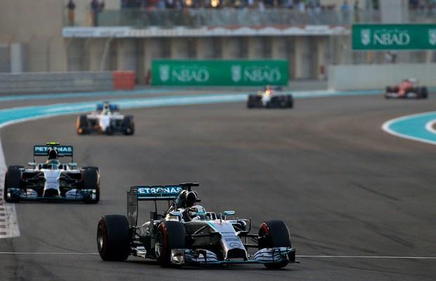 GP de Abu Dhabi de 2014 (Foto: Divulgação)