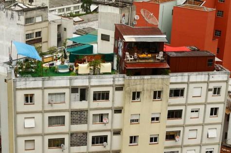 Vista aérea da casa de Nico Puig (Foto: Arquivo pessoal)