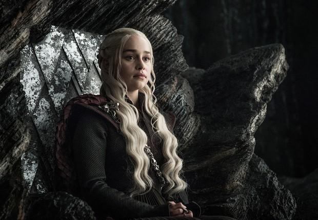 Daenerys Targaryen é a mãe dos dragões na série da HBO Game of Thrones (Foto: Divulgação)