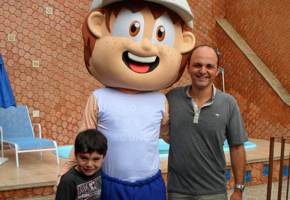 O Clubinho Salva Vidas foi pensado por Eliandro e seu filho (Foto: Divulgação)