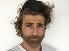 Reynaldo Gianecchini posa com cabelo bagunçado: 'Cara de segunda'