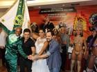 Zezé Di Camargo e Luciano viram enredo de escola de samba do Rio