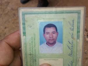 Vítima era taxista há mais de 30 anos (Foto: Blog Verdinho Itabuna)