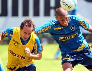 rafael marques botafogo treino (Foto: Ivo Gonzalez / O Globo)