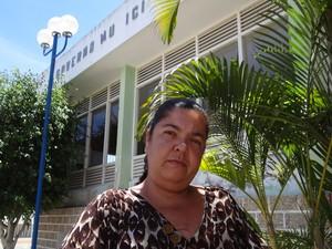 Maria Hilda sonha com emprego. (Foto: Luna Markman/ G1)
