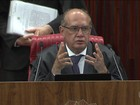 Presidente do TSE comenta atentados políticos em Brasília (DF)