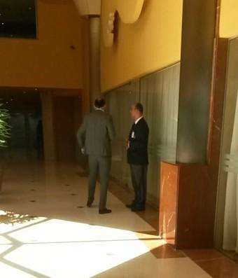 Juan Carlos de la Cuesta e Nestor Villarreal Atlético Nacional (Foto: Daniel Mundim)