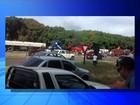 Integrantes do MST fazem protesto e fecham rodovia em Mirandópolis