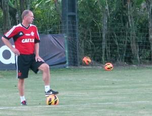 Mano Menezes Treino Flamengo (Foto: Richard Souza)