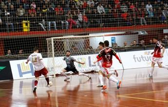 """Em partida com 10 gols, Erechim e Orlândia empatam e """"perdem"""" 100%"""