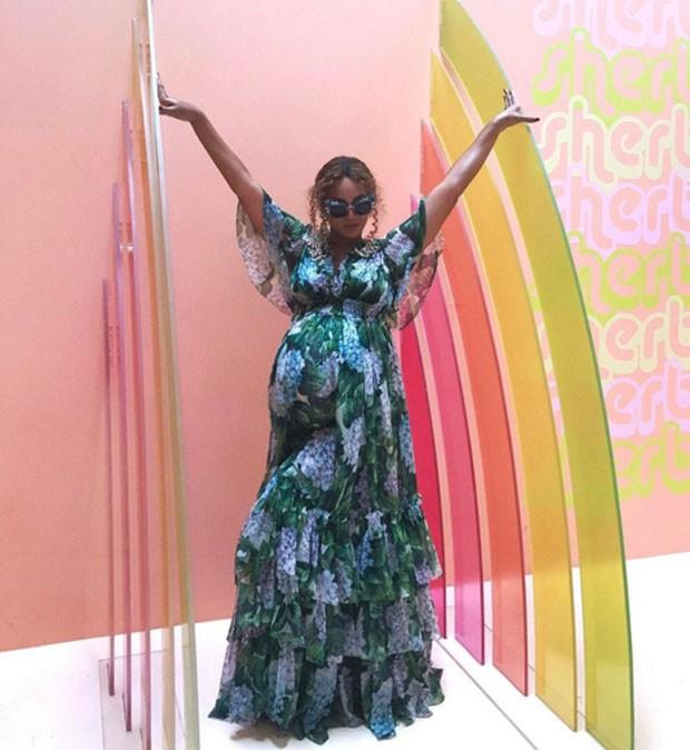 Um tour pelo Museu do Sorvete com Beyoncé (Foto: Instagram @beyonce)