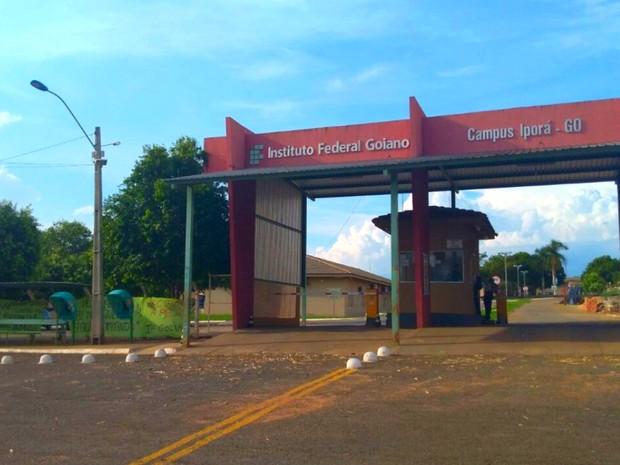 Campus do IF Goiano em Iporá, em Goiás (Foto: Karen Terossi/IF Goiano)