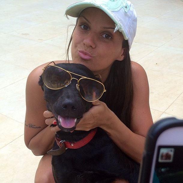 Ralf, cachorro de Carol Dias (Foto: Instagram/Reprodução)