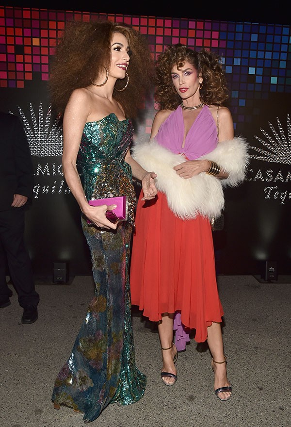 Amal Clooney e Cindy Crawford (Foto: Getty Images)