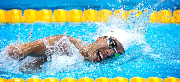 Daniel Dias natação ouro 100m livres Paralimpíadas (Foto: Buda Mendes / CPB)