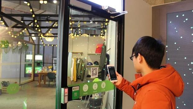 Loja We Life, da Tencent (Foto: Paula Escalada/EFE)