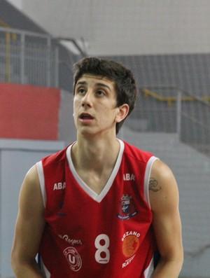 Dedé Pizzolato, ala do Suzano Basquete, fará parte da competição (Foto: Thiago Fidelix / Globoesporte.com)