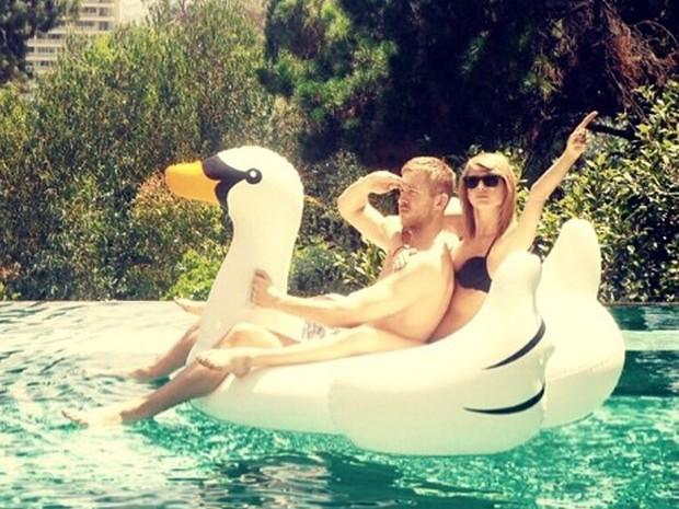 Calvin Harris e Taylor Swift namoraram por 15 meses (Foto: Reproduo/Instagram)