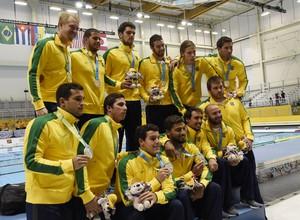 Polo aquático masculino, final, brasil, estados unidos (Foto: Reuters)