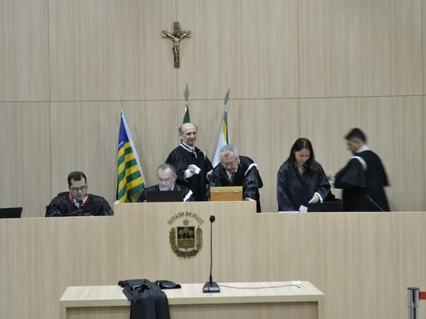 Plenário do Tribunal de Contas do Estado do Piauí  (Foto: Divulgação/ TCE-PI)