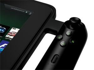 Detalhe de um dos lados do controle do tablet Edge (Foto: Divulgação)